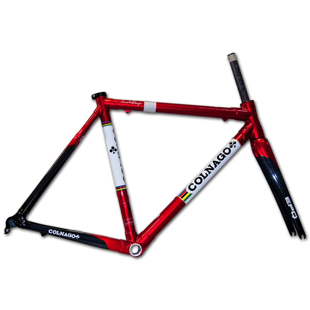 Colnago EPQ Carbon Road Bicycle Frameset 53cm (Retro Red) | eBay