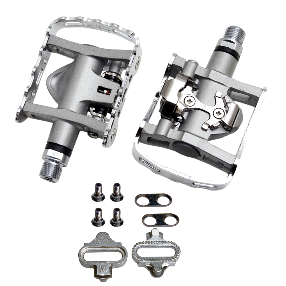 ca4430fe4 Silver EPDM324 Shimano PD-M324 Pedals Cycling
