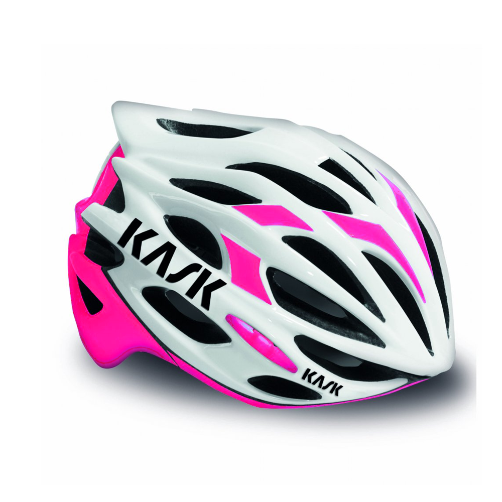 Details About Kask Mojito Casque Cyclisme Rose Fuchsia Blanc Large 59 62cm Route Velo