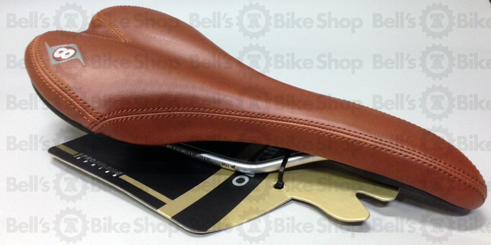 Origin8 Pro Uno Bicycle Saddle CLASSIC BROWN Road Track Fixed Gear ... 824b1df80