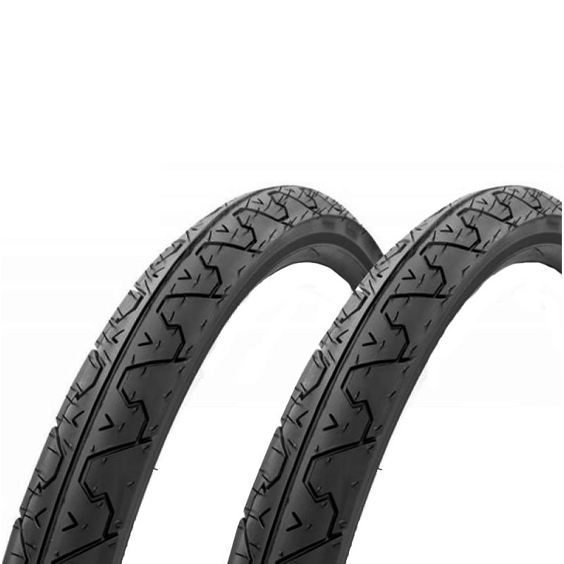 Details About Kenda K838 City Slick Tires Pair 26x1 95 Black Mountain Hybrid Urban Bicycle