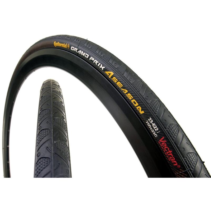 Continental Ultra Sport II tire 700x23-acier perle-Noir