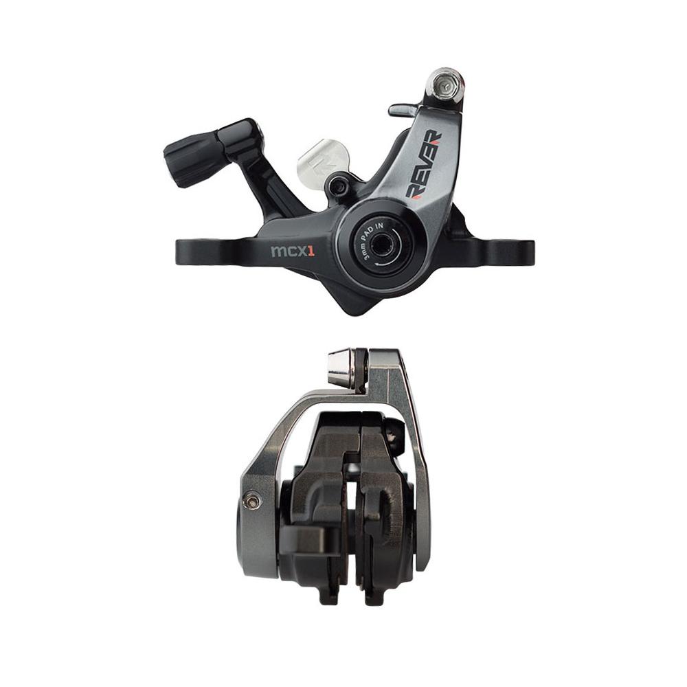 1 Set for 1 Wheel Rever MCX1 Mechanical Disc Brake Set with 160mm Rotor