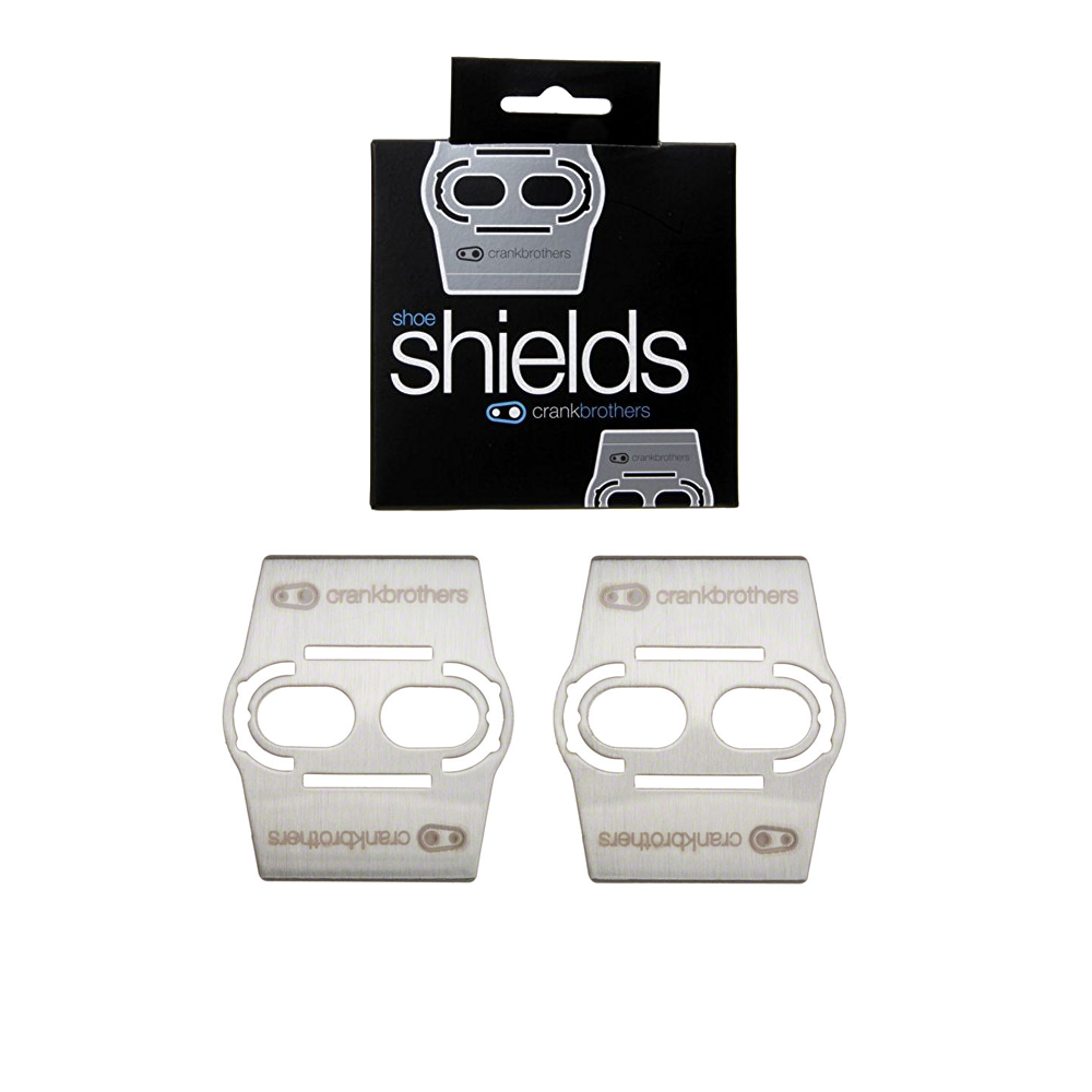 Crank Brothers Shoe Shields Protects Carbon Soled Shoes fit all Crankbros Cleats