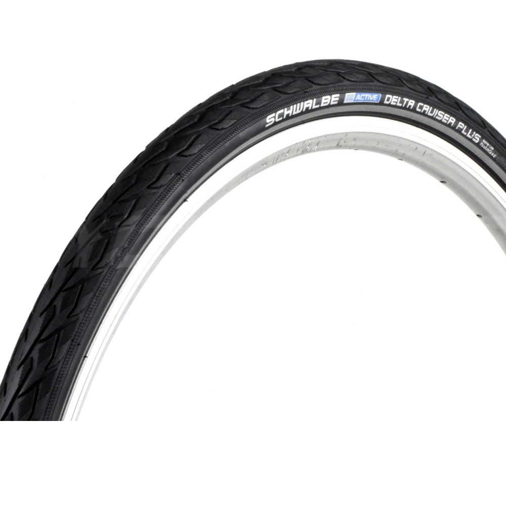 Schwalbe Delta Cruiser Plus PunctureGuard HS 431 Wire Tire 700x35c ...