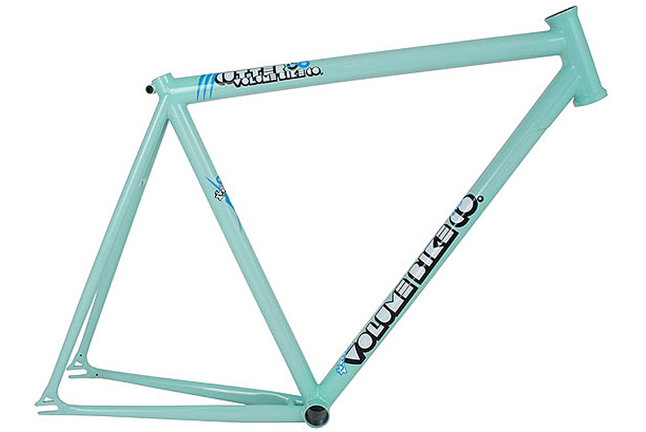 Volume Cutter V4 Track Fixed Gear Bike Frame MINT GREEN 50cm | eBay