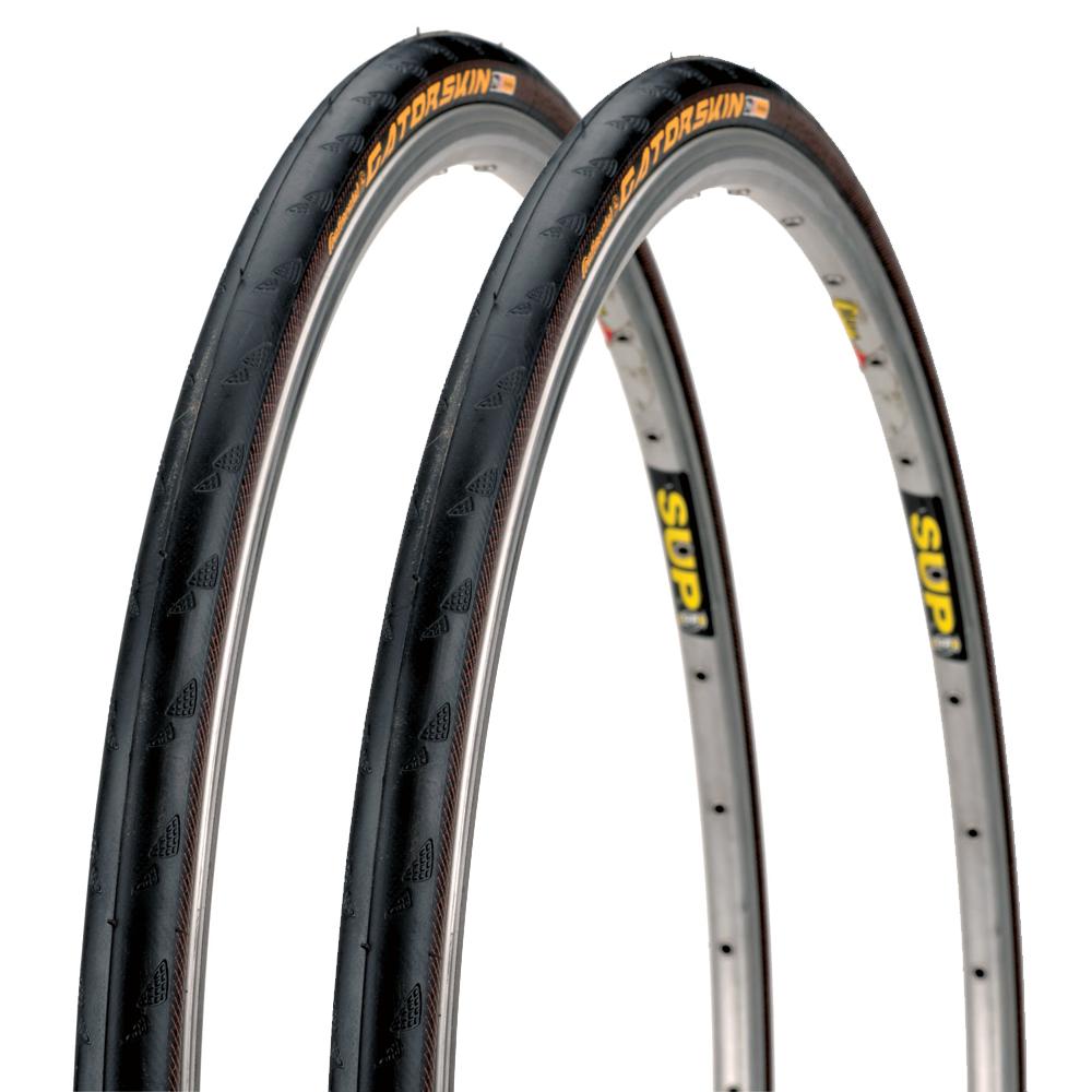 Continental GatorSkin Tire 700x23c Wire Bead Road Tour Urban Puncture Resistant