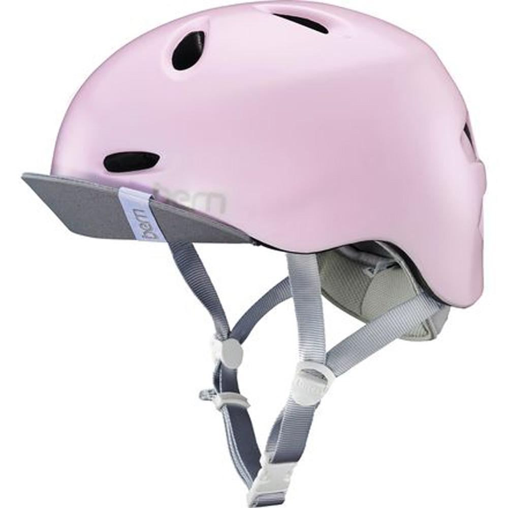 eba613aa2fa Bern Berkeley casco raso Pale Rosa Extra Pequeño Pequeño Commuter ...