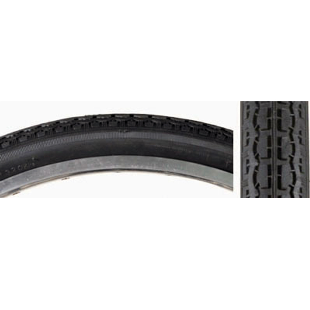 "Black Sunlite S-7 Street Tire 24x1-3//4/"" Fits Schwinn S-7 Type Rim ISO 521"